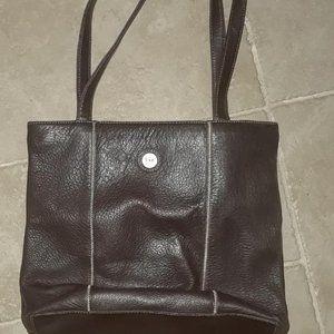 SAK-Brown Leather Bag